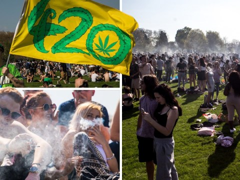 More than 5,000 weed smokers flock to Hyde Park for 4/20
