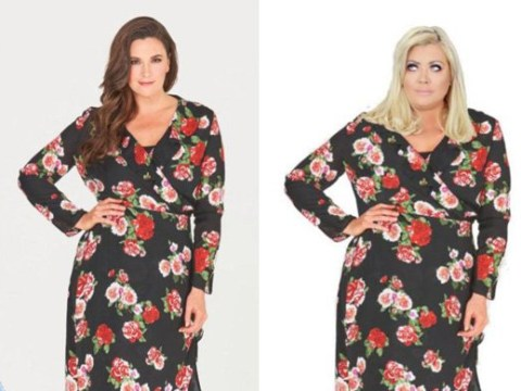 Gemma Collins slammed by second model who claims Towie star's head was Photoshopped onto her body