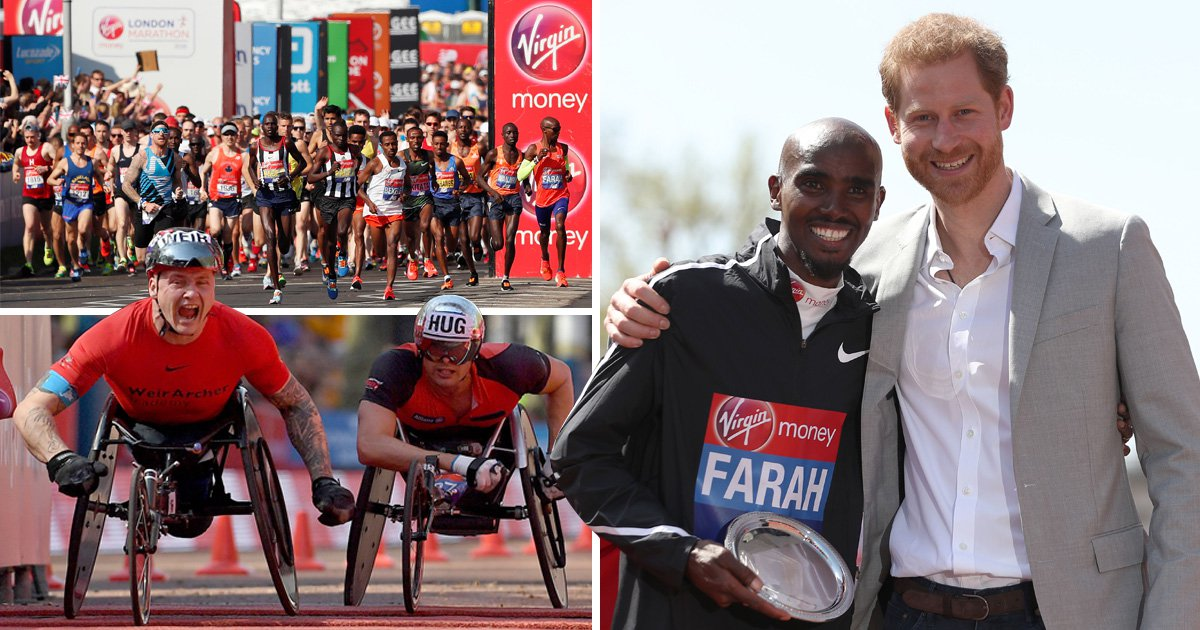Thousands of runners brave the heat in incredible London Marathon efforts
