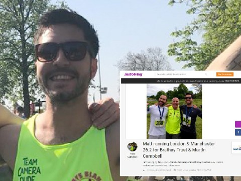 Donations rocket for Masterchef contestant who died after London Marathon