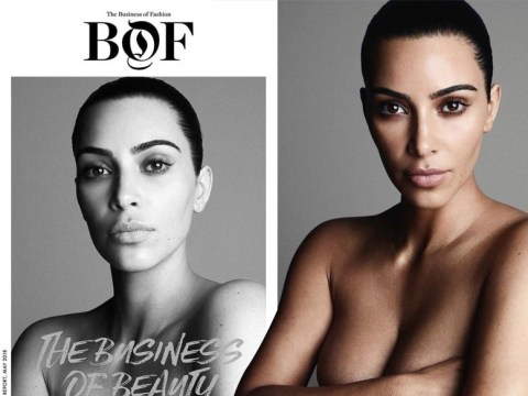 Kim Kardashian sparks more Photoshop claims as she goes naked for new photoshoot