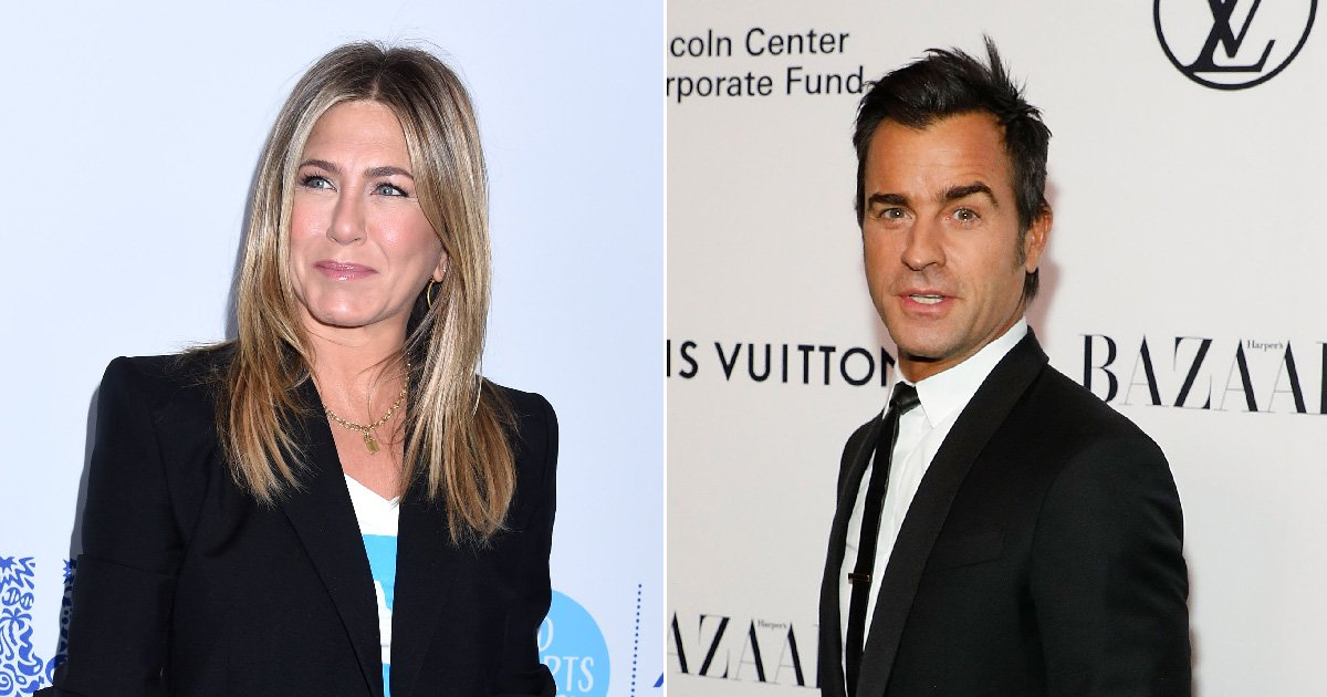Jennifer Aniston narrowly avoids reunion with Justin Theroux as they attend same party