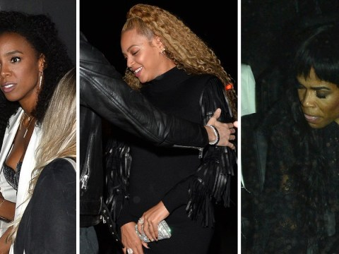 Proof Beyonce really does hang out with Destiny's Child stars Kelly Rowland and Michelle Williams