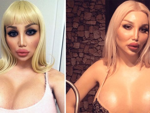 Transgender woman spends £110,000 on surgery to look like a human doll
