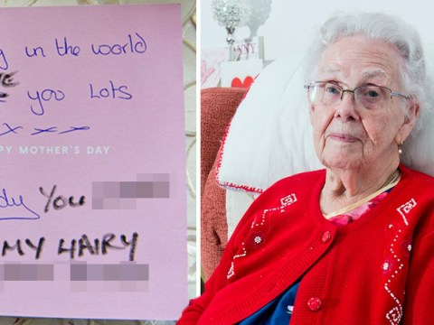 Gran's anger at Royal Mail for 'doing nothing' over 'dirty old slut' card
