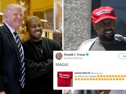 Donald Trump and Kanye West's love-in continues after rapper declares his love for him