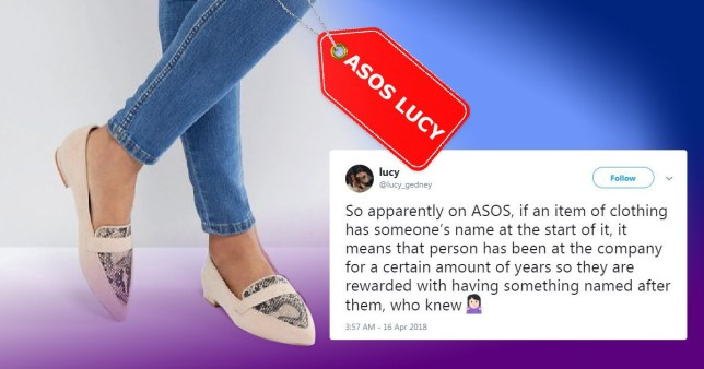 There's a really lovely reason why ASOS names its clothes