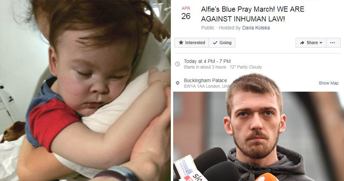 Alfie Evans Army to protest across the UK