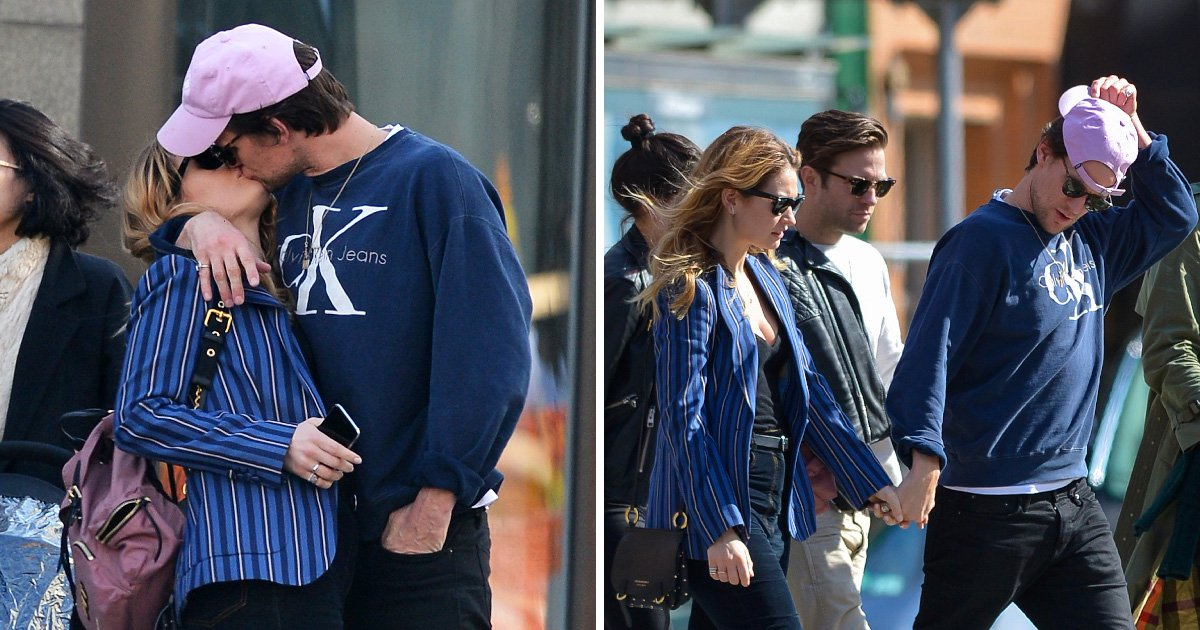 Matt Smith and Lily James spotted smooching in New York after she denies engagement rumours