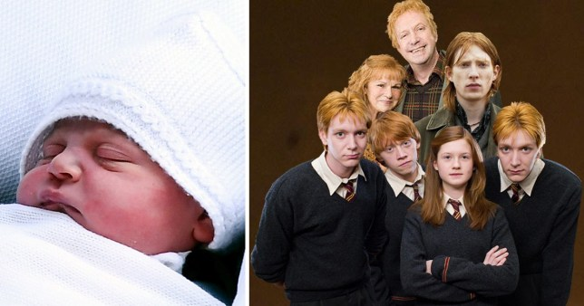 Prince Louis may be named after Harry Potter's Weasleys