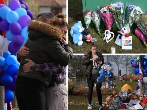Tributes left at Alder Hey Hospital as staff release Alfie Evans tribute