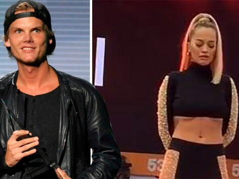 Rita Ora holds one minute's silence in Avicii's honour during festival performance