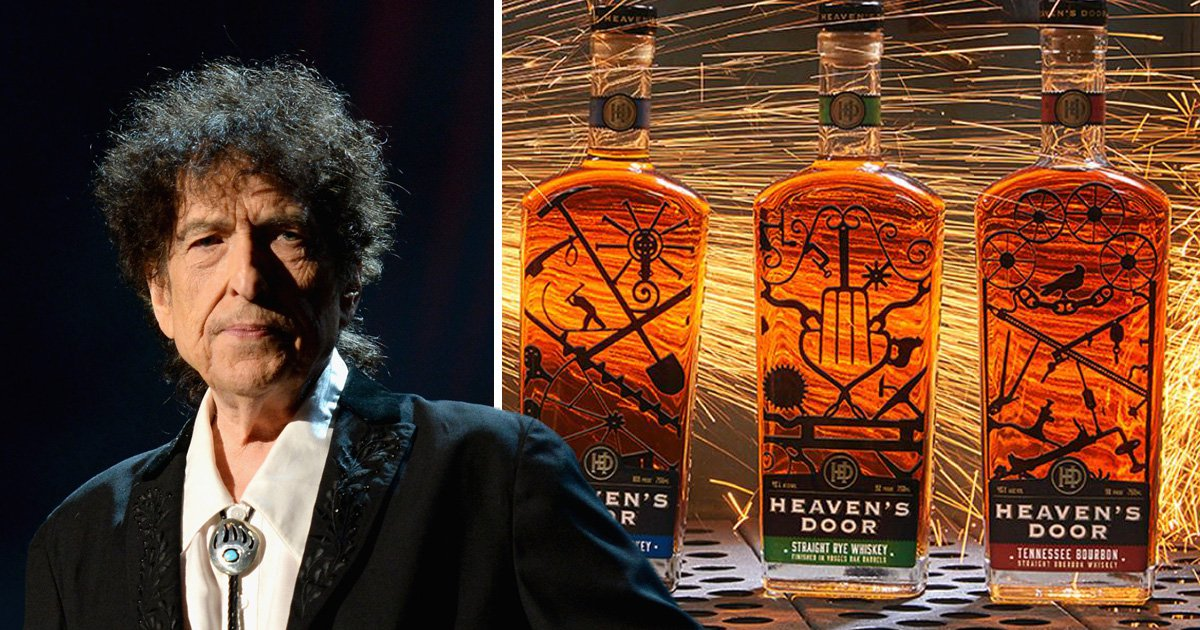 Bob Dylan is launching his own whiskey line