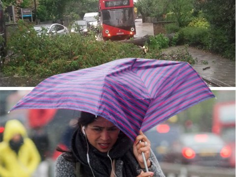 Flood alerts issued as month's worth of rain due to be dumped on Britain today