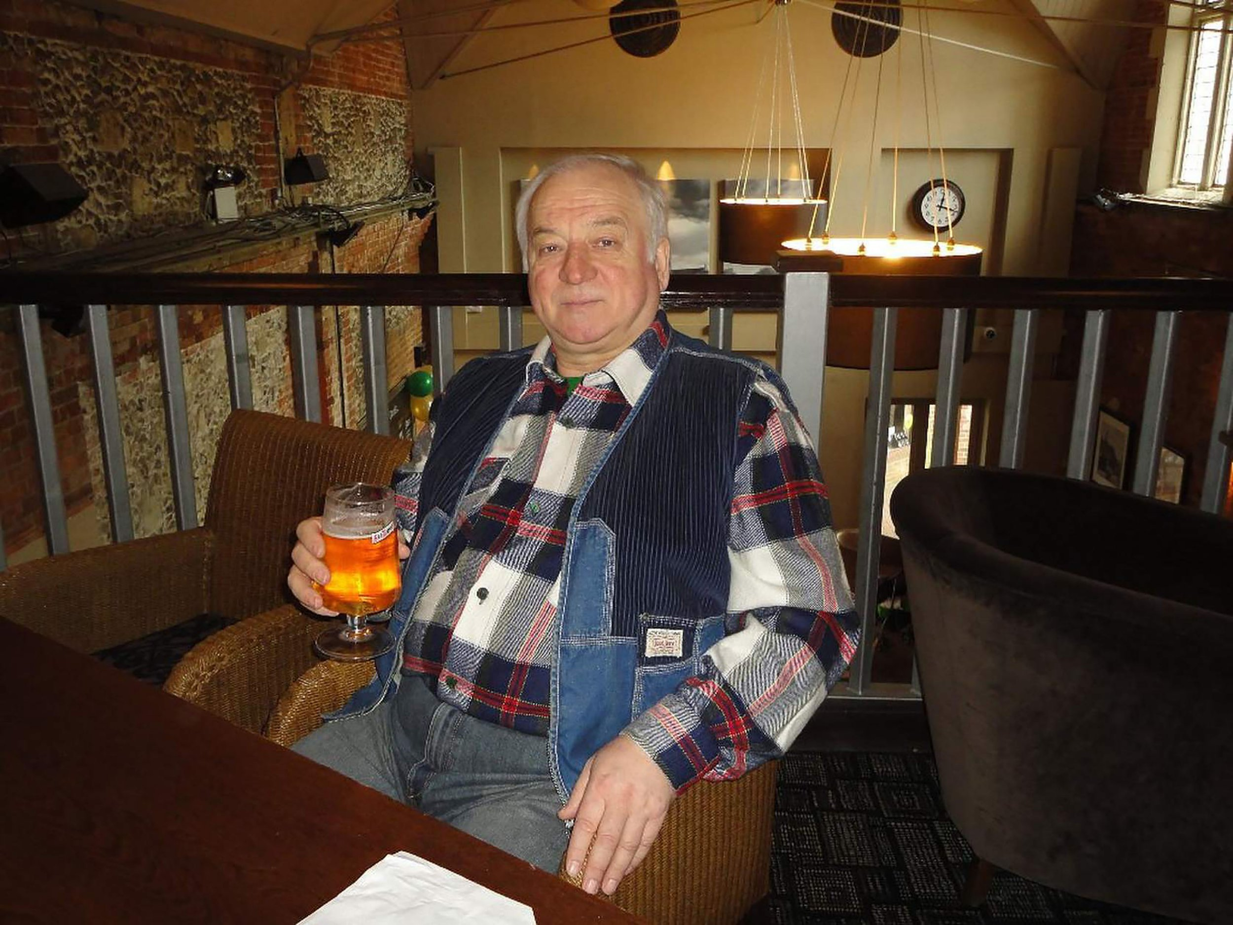 Sergei Skripal 'improving rapidly and no longer in critical condition'
