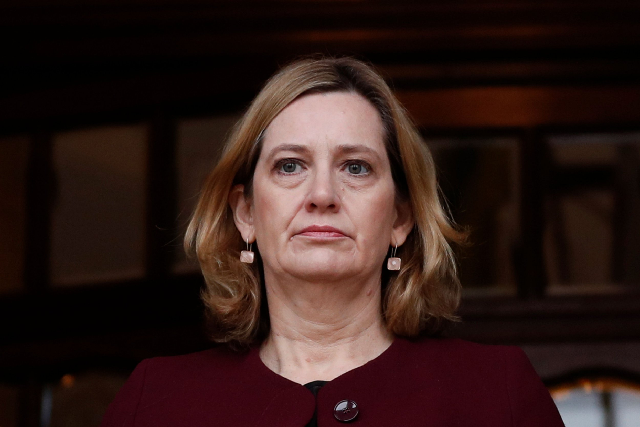 Police cuts are not responsible for rise in violence, Amber Rudd says