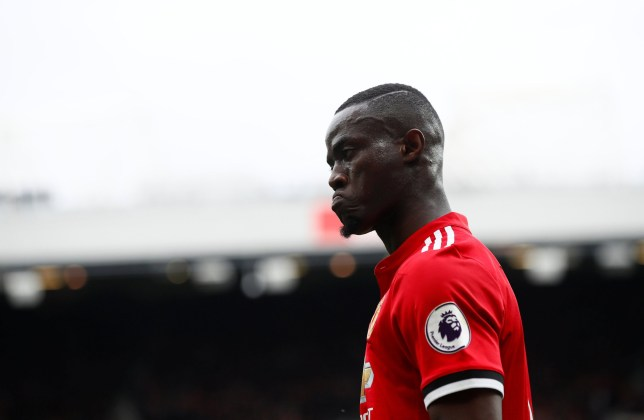 "Soccer Football - Premier League - Manchester United vs Liverpool - Old Trafford, Manchester, Britain - March 10, 2018 Manchester United's Eric Bailly Action Images via Reuters/Jason Cairnduff EDITORIAL USE ONLY. No use with unauthorized audio, video, data, fixture lists, club/league logos or ""live"" services. Online in-match use limited to 75 images, no video emulation. No use in betting, games or single club/league/player publications. Please contact your account representative for further details."