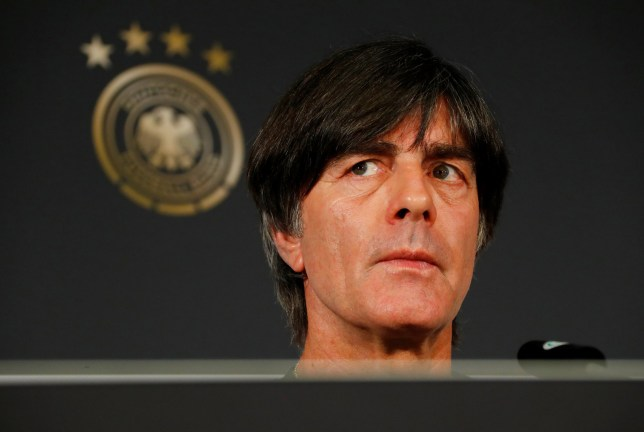 Soccer Football - Germany Press Conference - Berlin, Germany - March 26, 2018 Germany coach Joachim Low during the press conference REUTERS/Fabrizio Bensch