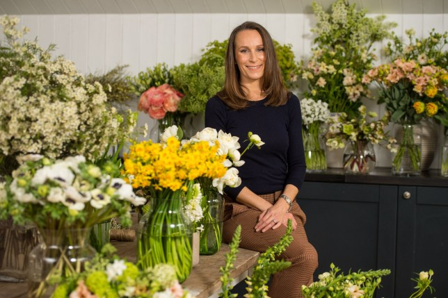EMBARGOED TO 0001 SUNDAY APRIL 1 Florist Philippa Craddock, who has been chosen to create the floral displays for the wedding of Prince Harry and Meghan Markle, in her studio. PRESS ASSOCIATION Photo. Picture date: Thursday March 29, 2018. Photo credit should read: Dominic Lipinski/PA Wire