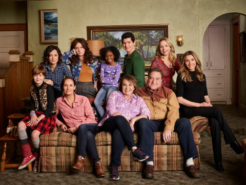 Roseanne reboot renewed for second season as ratings smash records