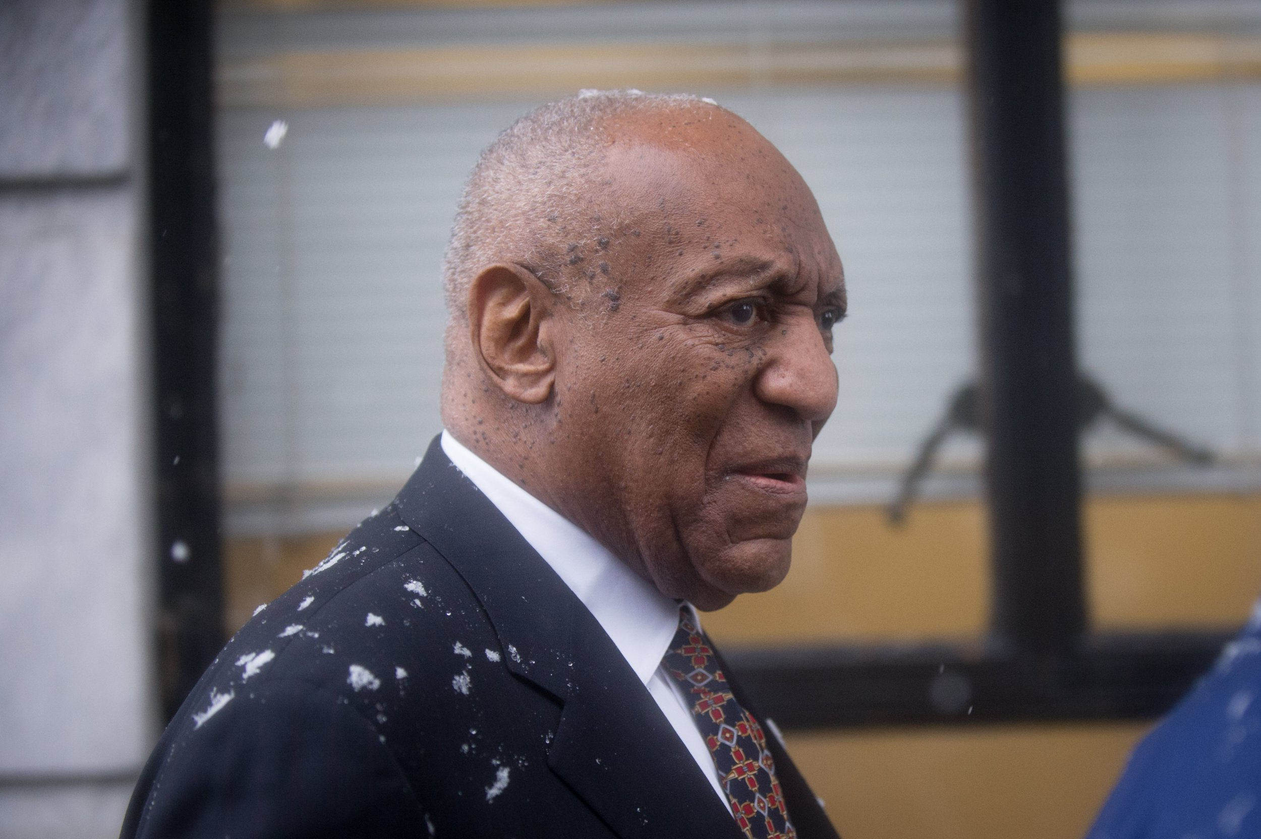 Bill Cosby arrives at court as sexual assault retrial begins