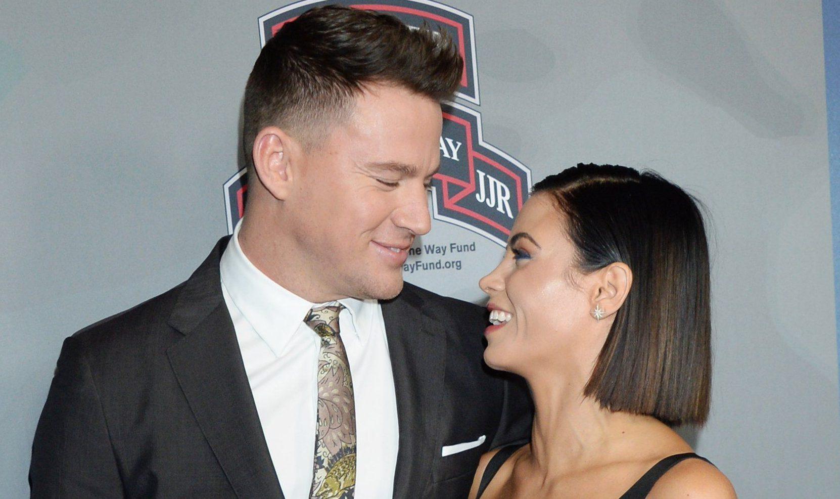 When did Channing Tatum split up with wife Jenna Dewan and start dating Jessie J?