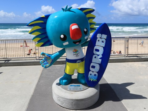 Who is the Commonwealth Games mascot and why is he called Borobi?
