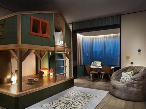 This luxury hotel has epic themed suites for kids