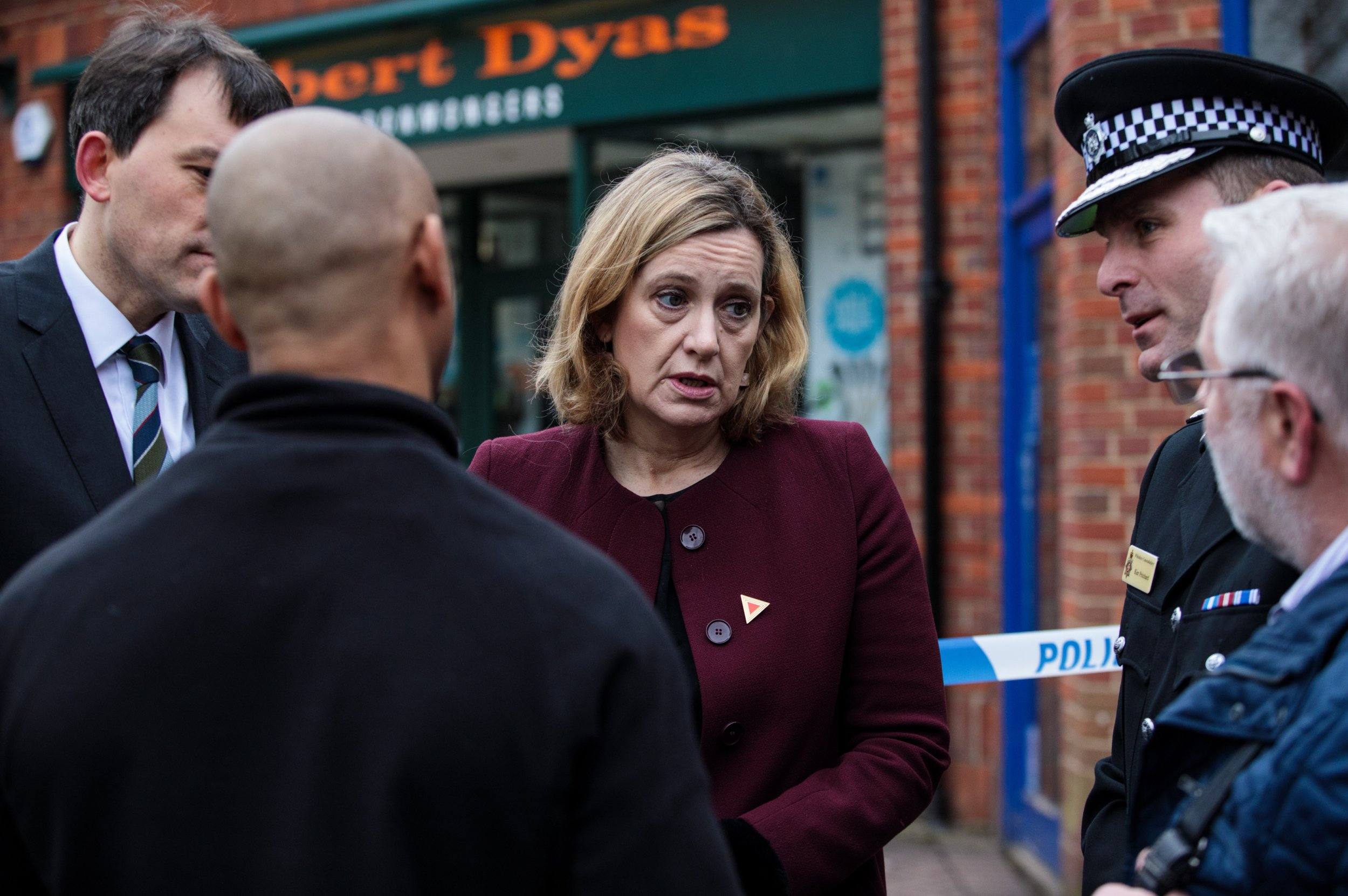 Amber Rudd blames social media for rise in murders instead of huge cuts to police