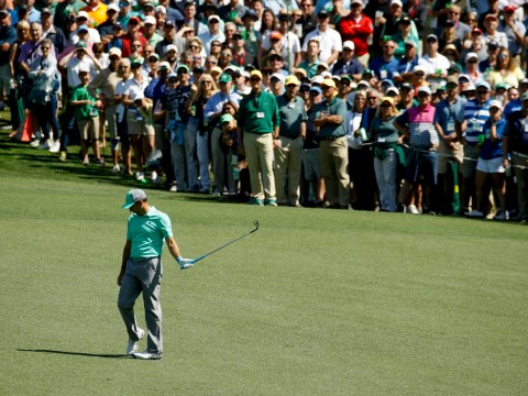 What time does The 2018 Masters start in the UK?