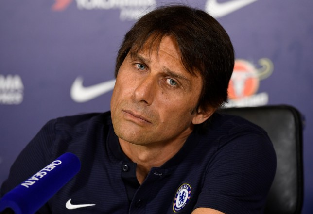 Soccer Football - Premier League - Chelsea Press Conference - Chelsea FC Training Ground, London, Britain - April 6, 2018 Chelsea manager Antonio Conte during the press conference Action Images via Reuters/Tony O'Brien