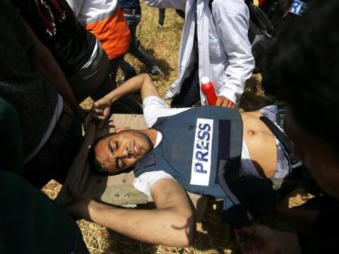 Palestinian journalist shot dead by Israeli sniper while wearing press vest