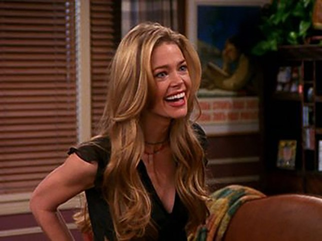 Picture: NBC/ Friends Denise Richards steamiest scenes/career highlights and lowlights (SATURDAY)