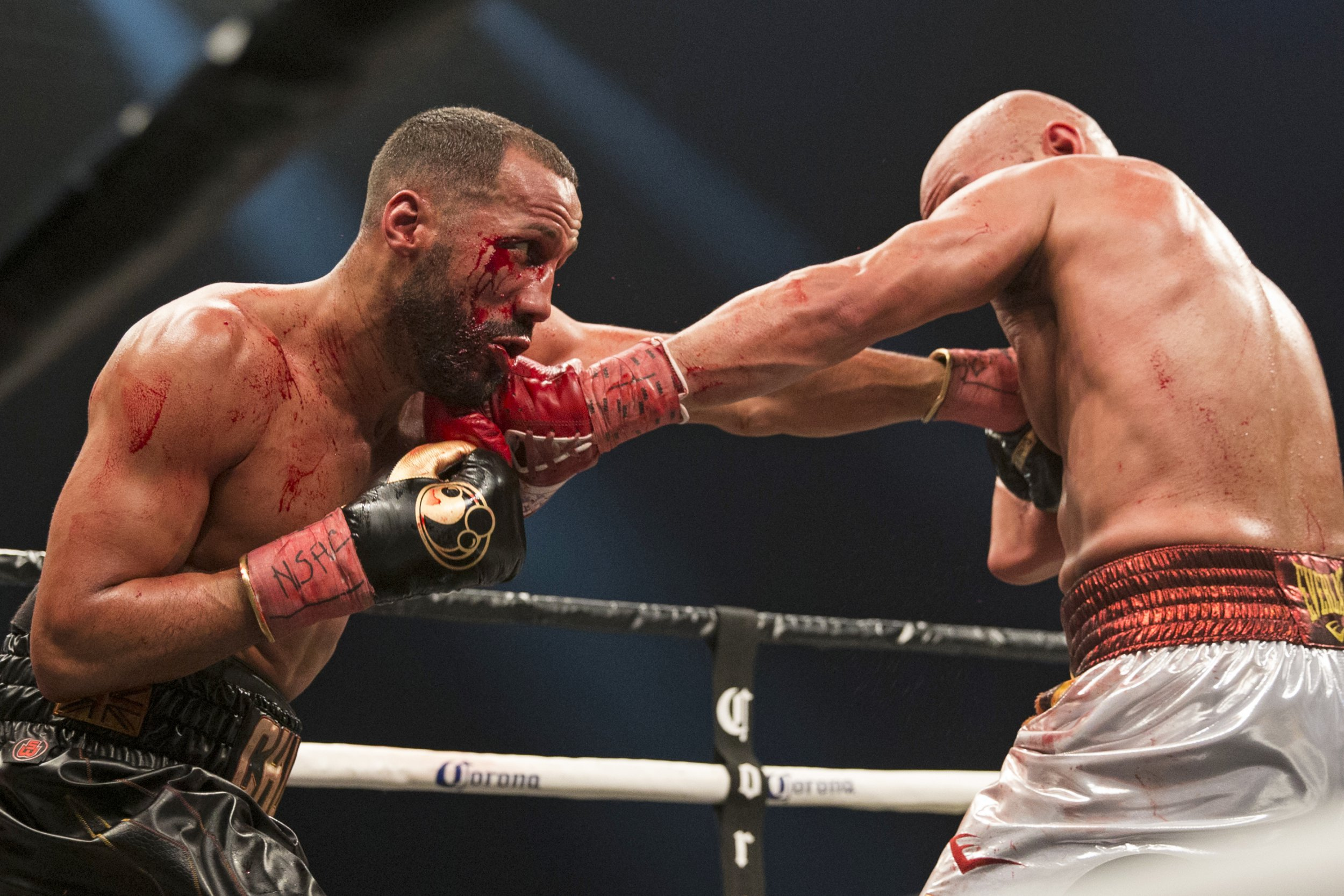 James DeGale claims revenge and wins back IBF title from Caleb Truax in bloody rematch