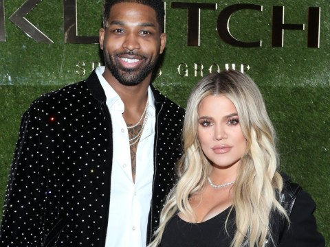 Khloe Kardashian and Tristan Thompson kiss on Instagram after cheating scandal