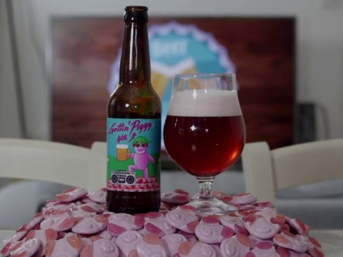Someone's turned Percy Pigs into beer and it's as pink as you'd imagine