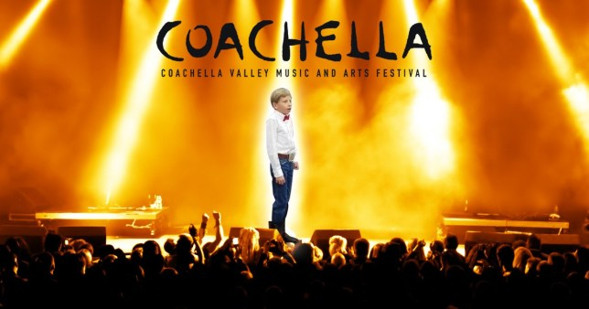 The Yodeling kid has been signed up for Coachella