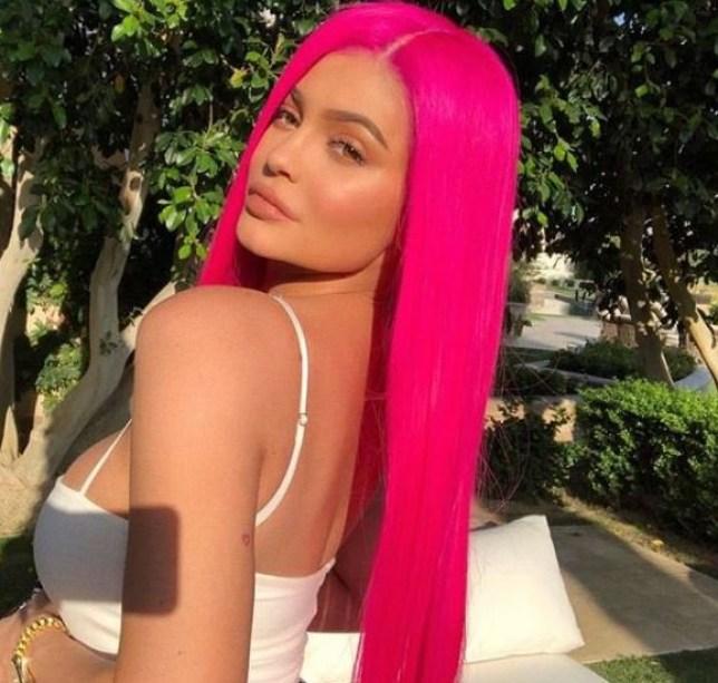 Kylie Jenner 14/04/2018 Credit: instagram/kyliejenner