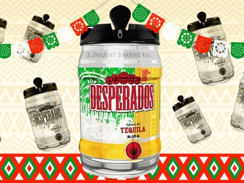 Desperados now comes in a five litre keg so that's your weekend sorted