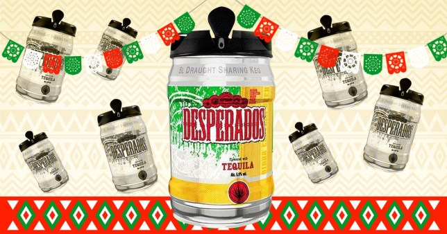 Desperados Now Comes In A Five Litre Mini Keg From Morrisons Metro News