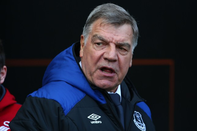 Everton's English manager Sam Allardyce arrives for the English Premier League football match between Swansea City and Everton at The Liberty Stadium in Swansea, south Wales on April 14, 2018. / AFP PHOTO / Geoff CADDICK / RESTRICTED TO EDITORIAL USE. No use with unauthorized audio, video, data, fixture lists, club/league logos or 'live' services. Online in-match use limited to 75 images, no video emulation. No use in betting, games or single club/league/player publications. / GEOFF CADDICK/AFP/Getty Images