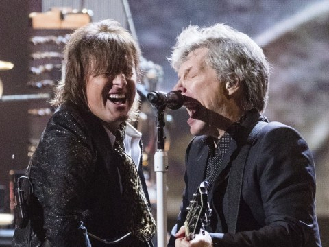 Bon Jovi reunited for Rock And Roll Hall Of Fame induction