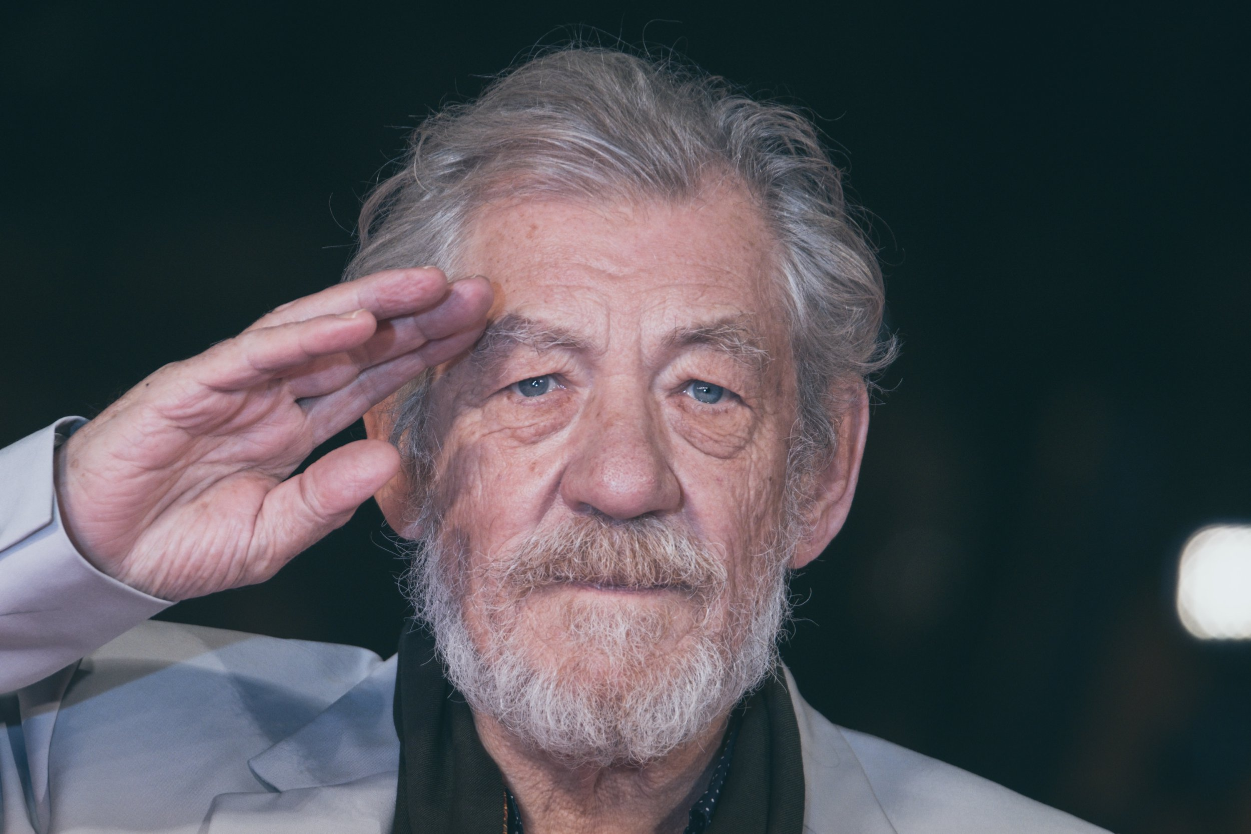 Lord Of the Rings star Sir Ian McKellen is already planning his own funeral