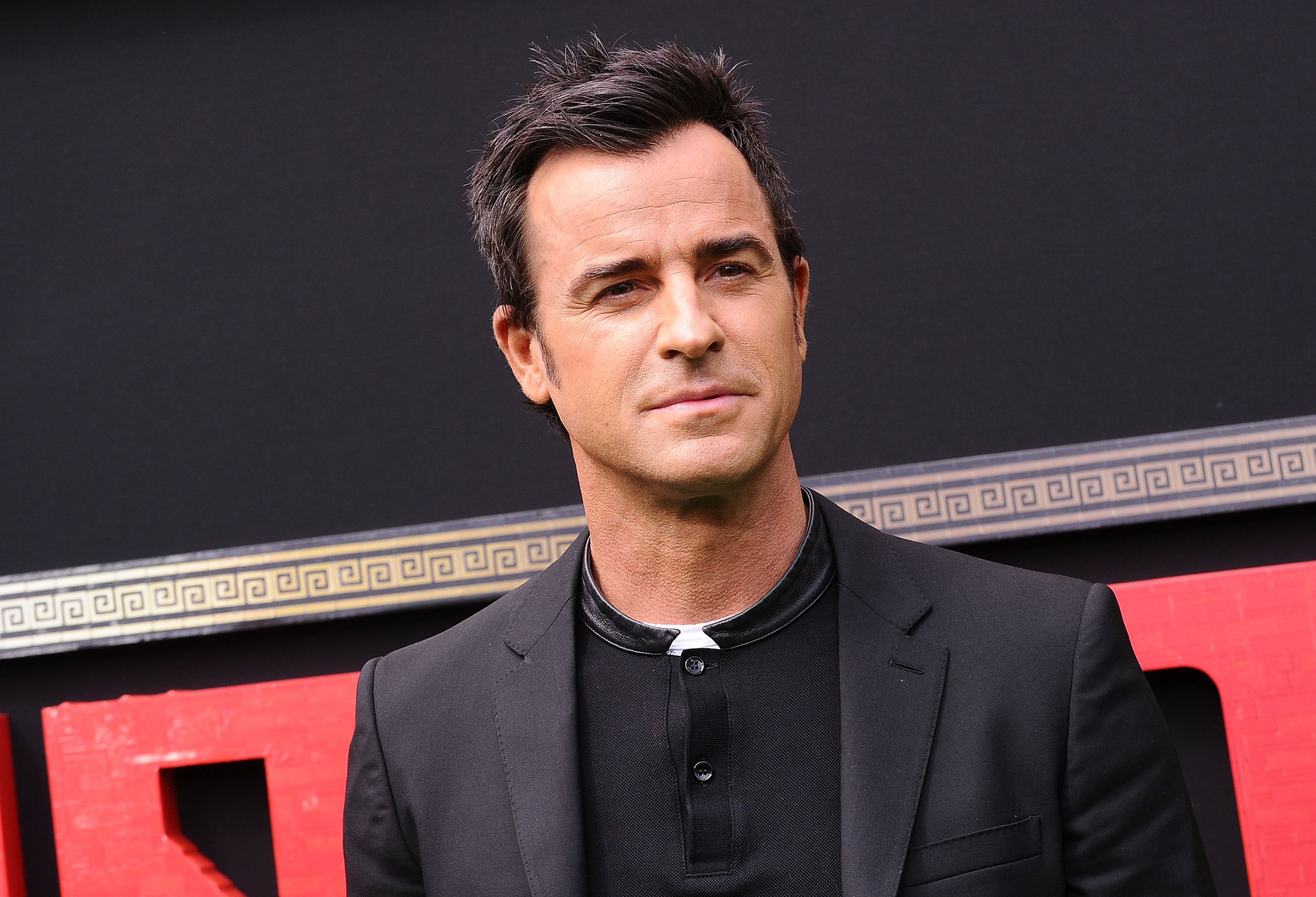 """WESTWOOD, CA - SEPTEMBER 16: Actor Justin Theroux attends the premiere of """"The LEGO Ninjago Movie"""" at Regency Village Theatre on September 16, 2017 in Westwood, California. (Photo by Jason LaVeris/FilmMagic)"""