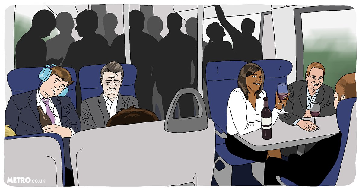 8 things you only notice if you commute into London