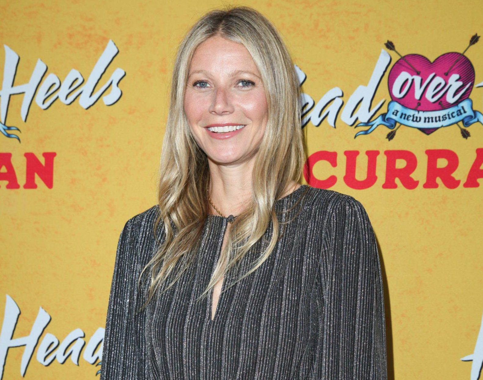 "SAN FRANCISCO, CA - APRIL 18: Actress Gwyneth Paltrow arrives on the red carpet for the Pre-Broadway Opening Engagement Of ""Head Over Heels"" at the Curran Theatre on April 18, 2018 in San Francisco, California. (Photo by Kelly Sullivan/Getty Images)"
