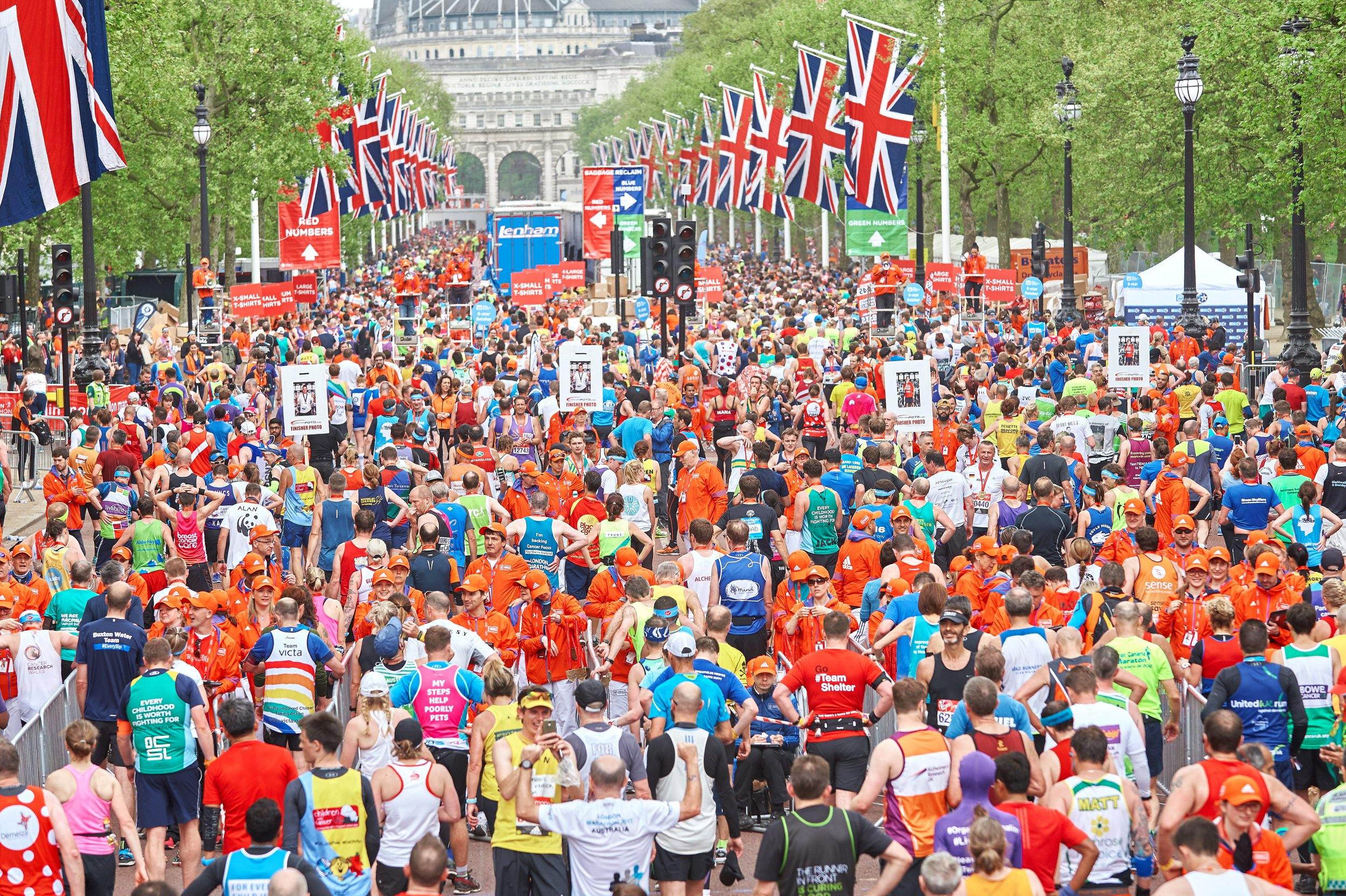 Think running the marathon's hard? Spare a thought for the poor supporters