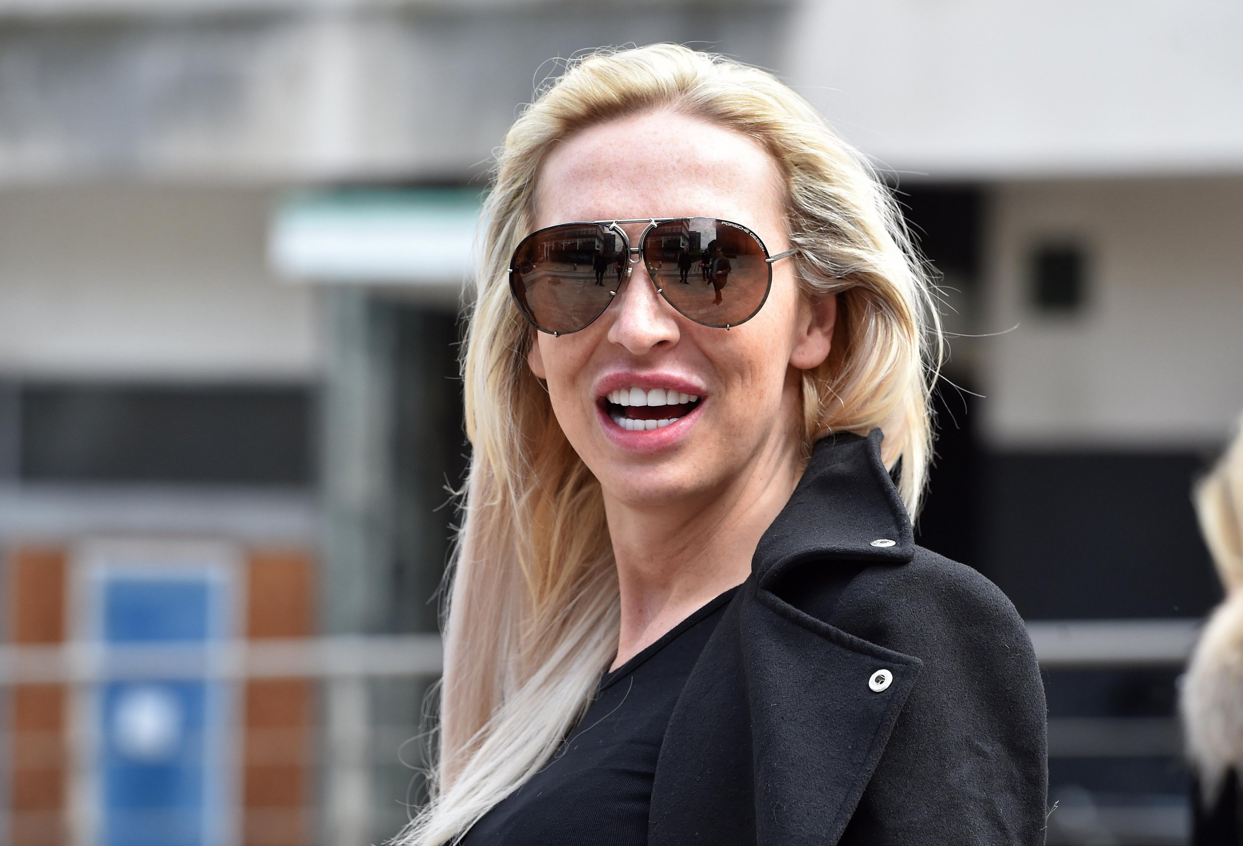Reality star Chelsey Harwood from St Helens walks out of Liverpool Crown Court after admitting a ?25,000 of benefit fraud. Credit: Liverpool Echo Payment at your normal rate to Trinity Mirror Publishing Ltd PO Box 2003 39 Old Hall Street Liverpool L69 3FR