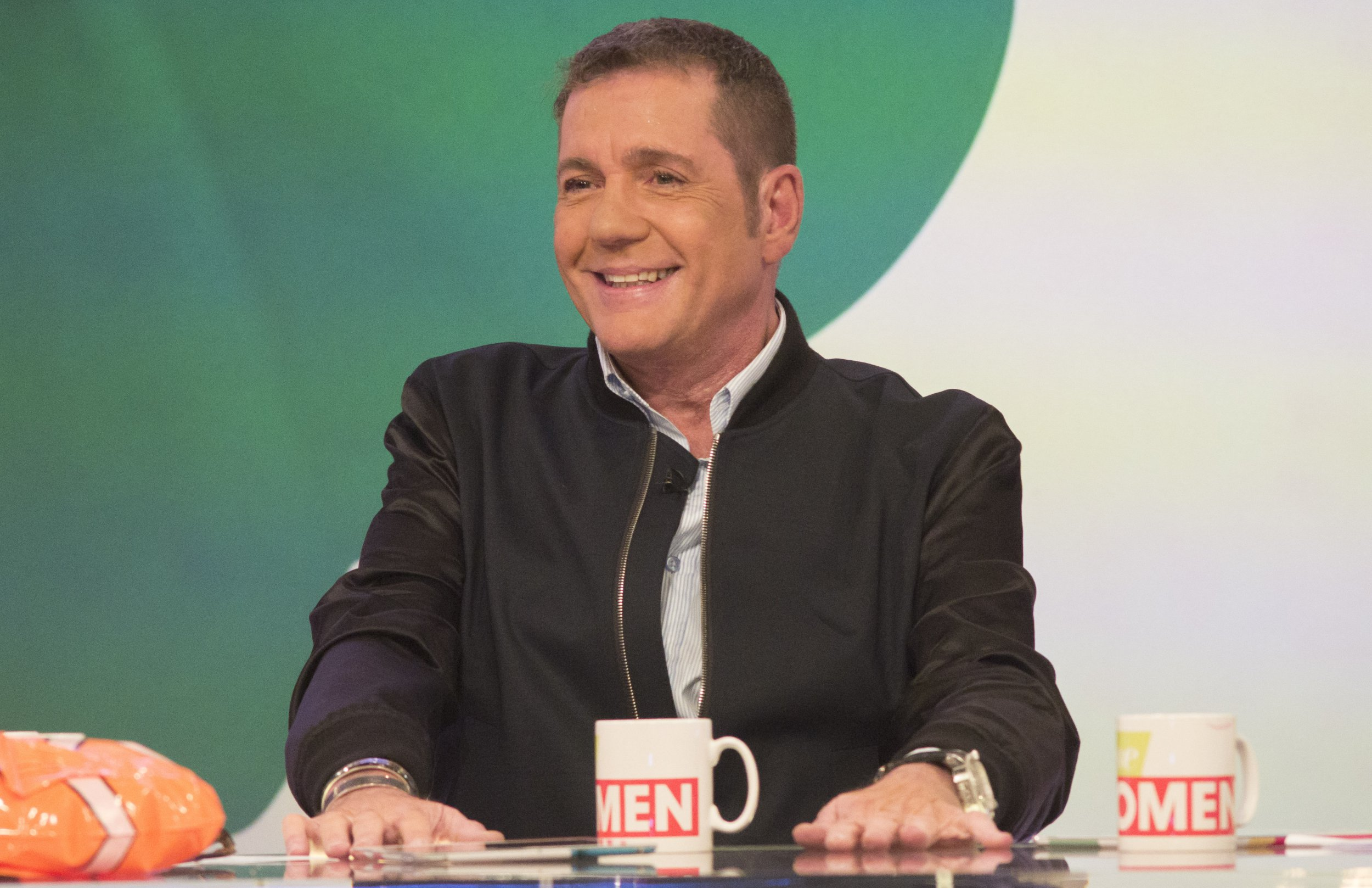 EDITORIAL USE ONLY. NO MERCHANDISING Mandatory Credit: Photo by S Meddle/ITV/REX/Shutterstock (5734157bw) Dale Winton 'Loose Women' TV show, London, UK - 17 Jun 2016
