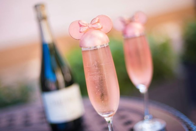 Disney World millennial pink drink Credit: Disney Parks